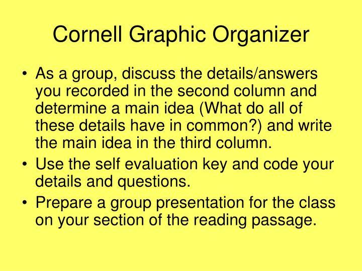 Cornell Graphic Organizer