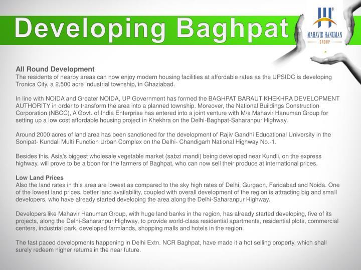 Developing Baghpat
