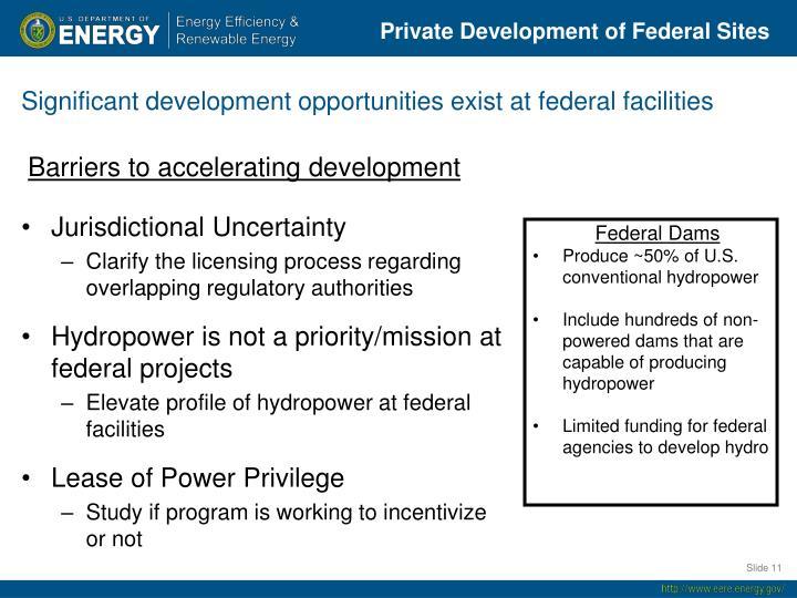 Federal Dams
