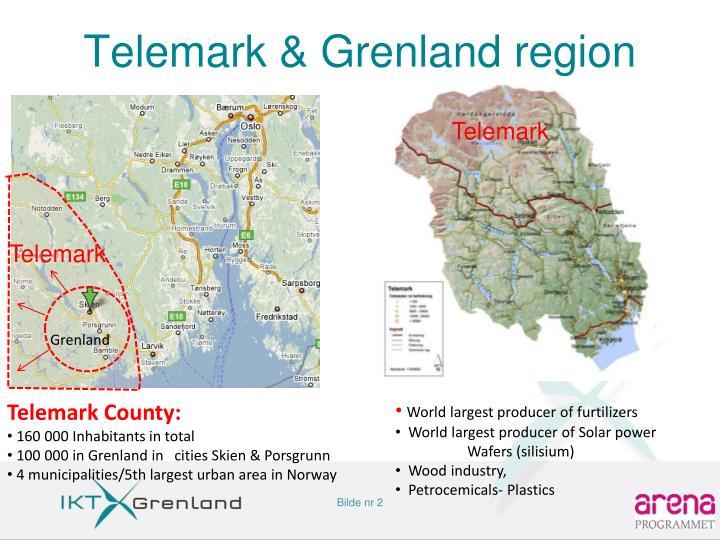 Telemark & Grenland region