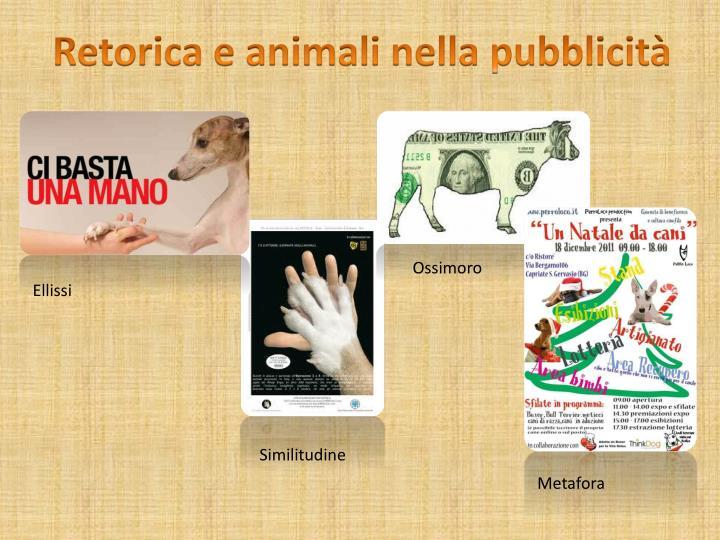 Retorica e animali nella pubblicità