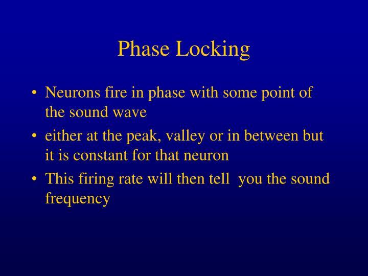 Phase Locking