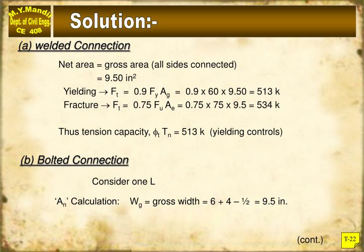 Solution:-