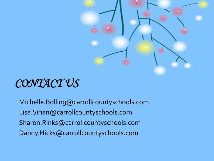 Michelle.Bolling@carrollcountyschools.com