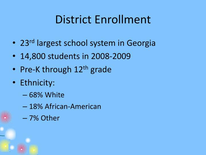 District Enrollment