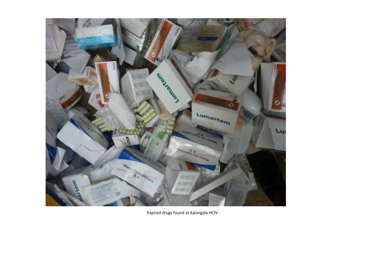Expired drugs found at