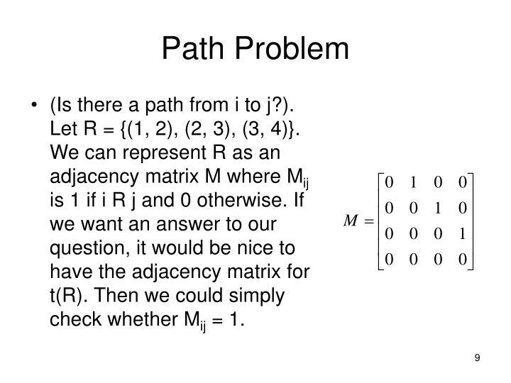 Path Problem