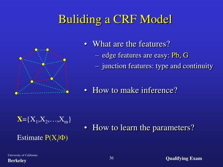 Buliding a CRF Model