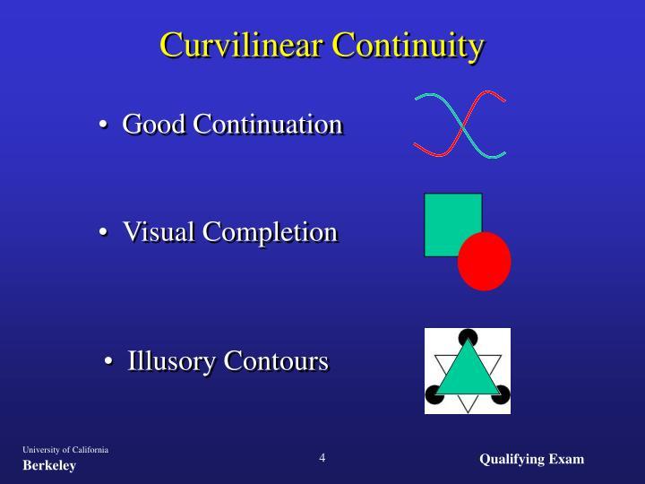 Curvilinear Continuity