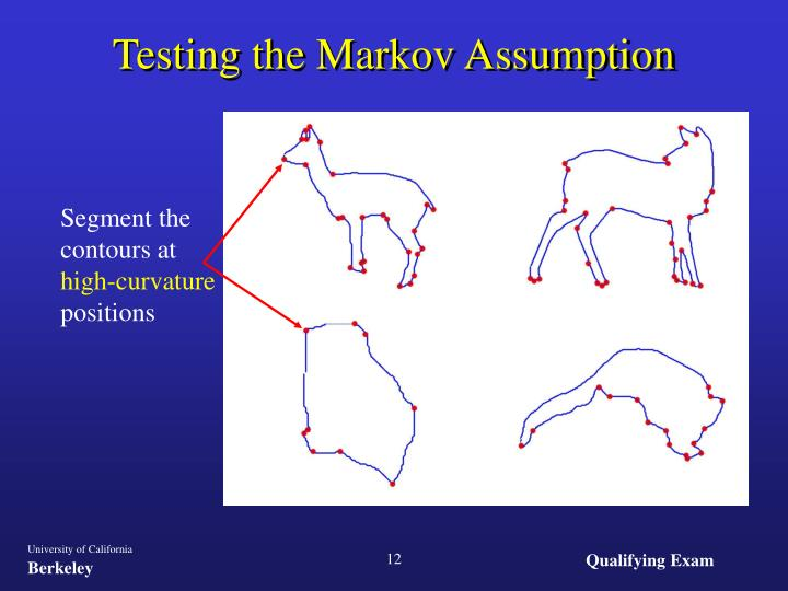 Testing the Markov Assumption