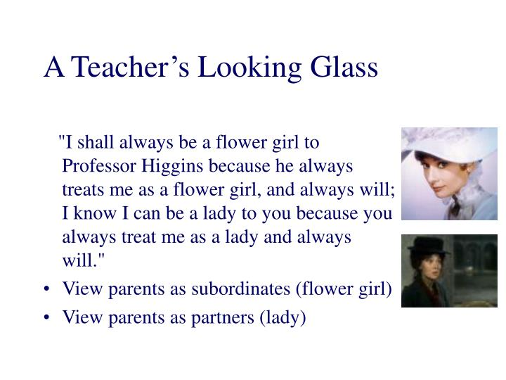 A Teacher's Looking Glass