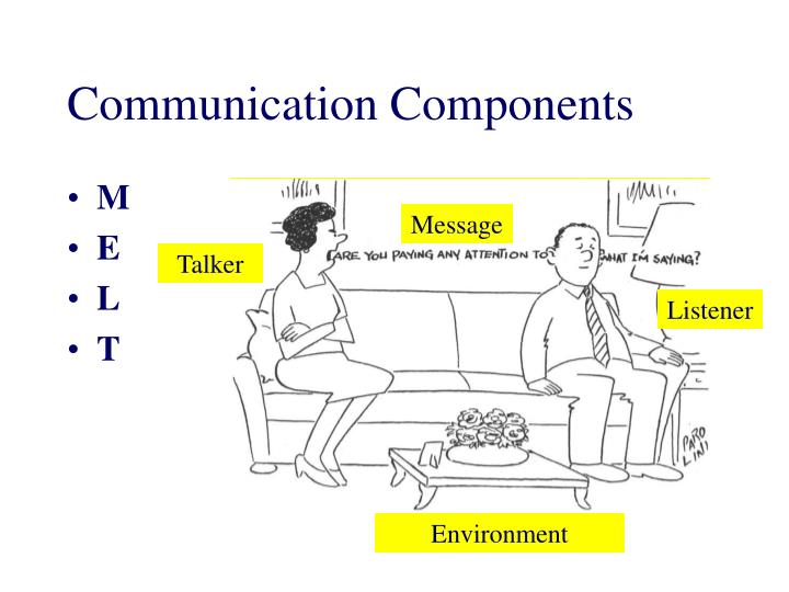 Communication components