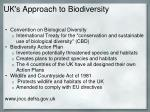 uk s approach to biodiversity