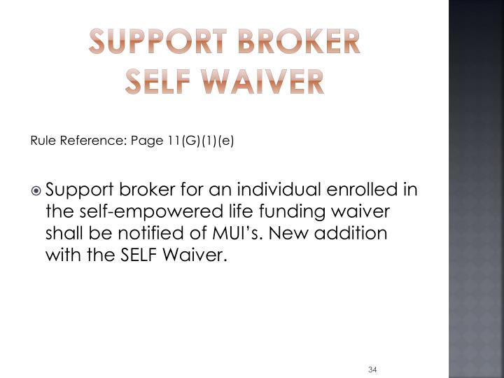 Support Broker