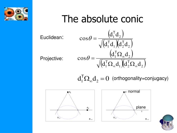 The absolute conic