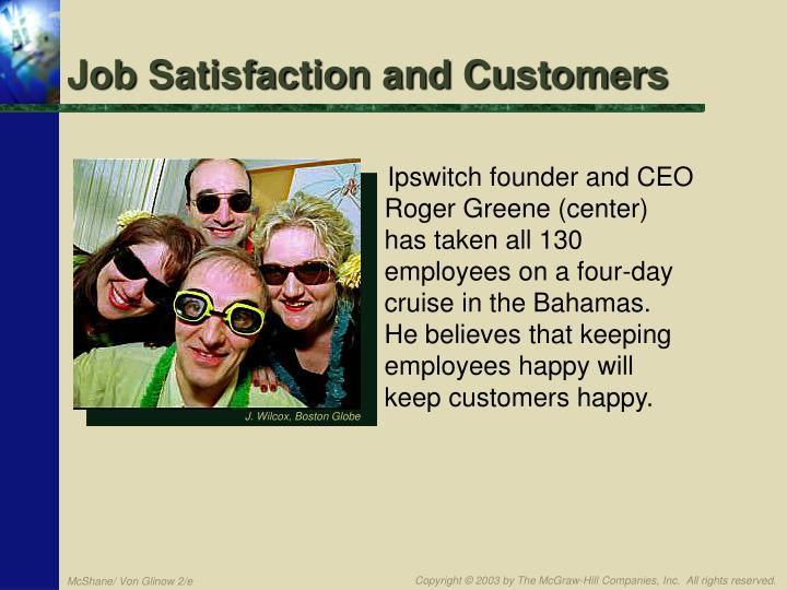 Job Satisfaction and Customers