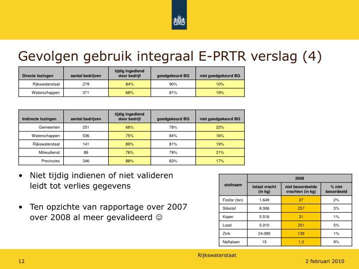 Gevolgen gebruik integraal E-PRTR verslag (4)