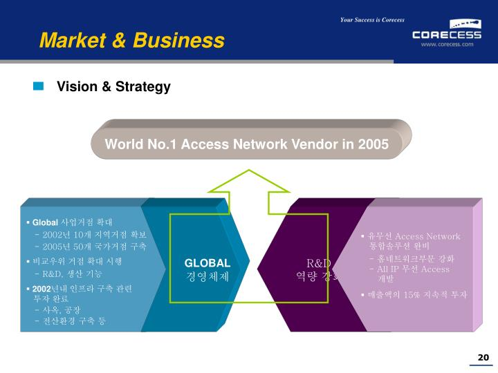 Vision & Strategy