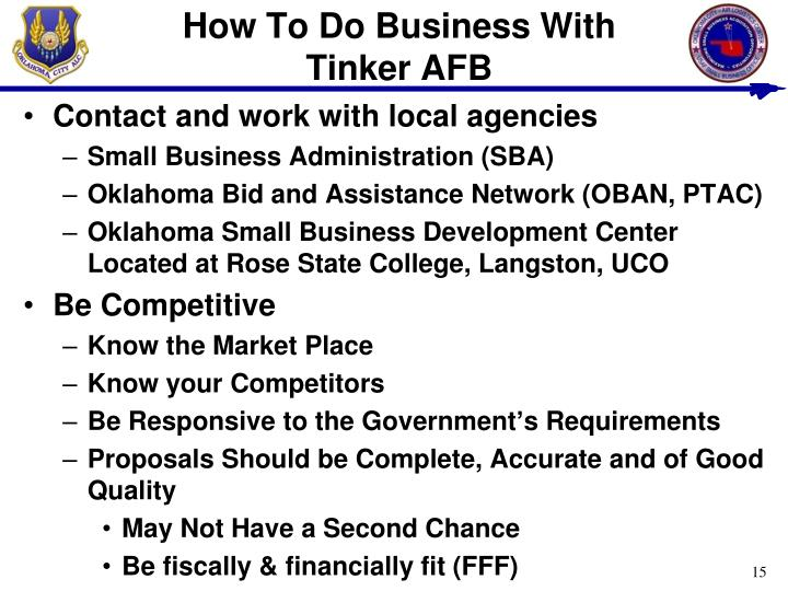 How To Do Business With