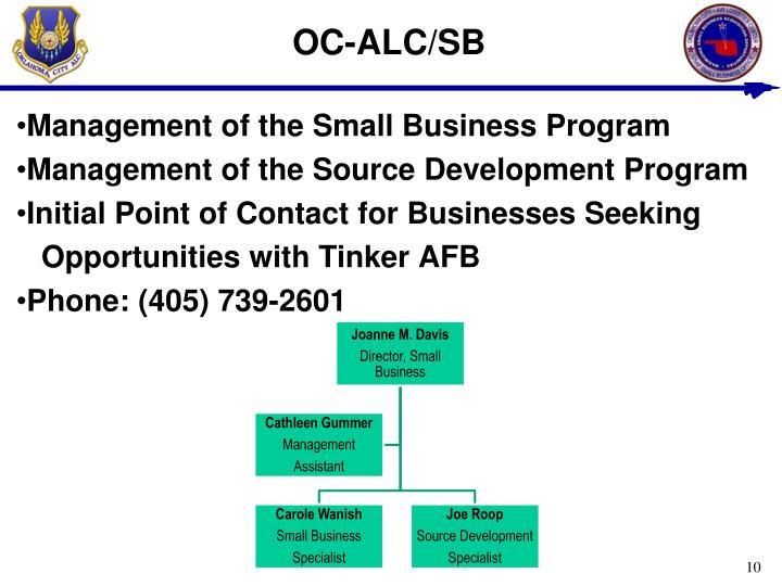 OC-ALC/SB