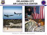 oklahoma city air logistics center