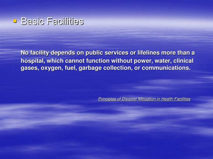 Basic Facilities