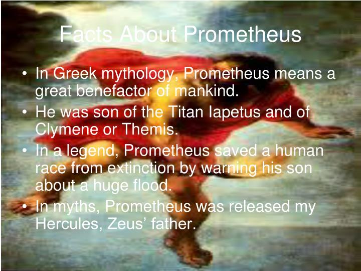 Facts About Prometheus