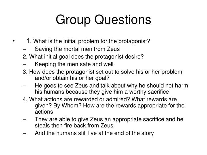 Group Questions