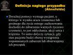 definicja nag ego przypadku ahnefelda
