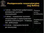 post powanie resuscytacyjne wg safara