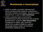 reanimacja a resuscytacja