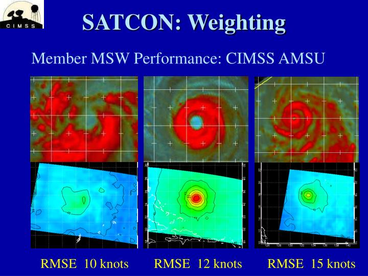 SATCON: Weighting