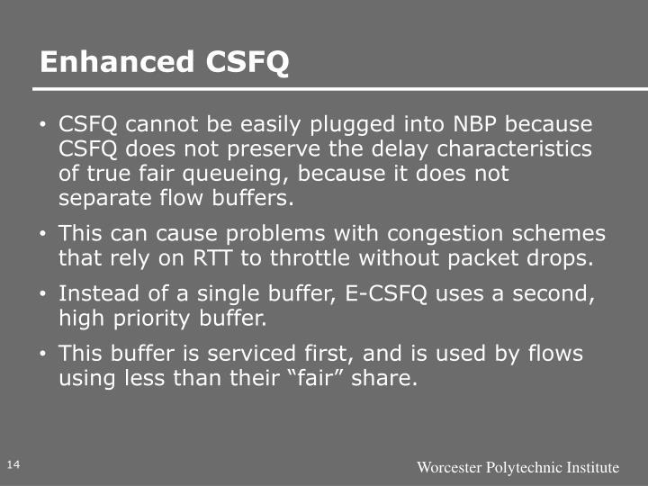 Enhanced CSFQ