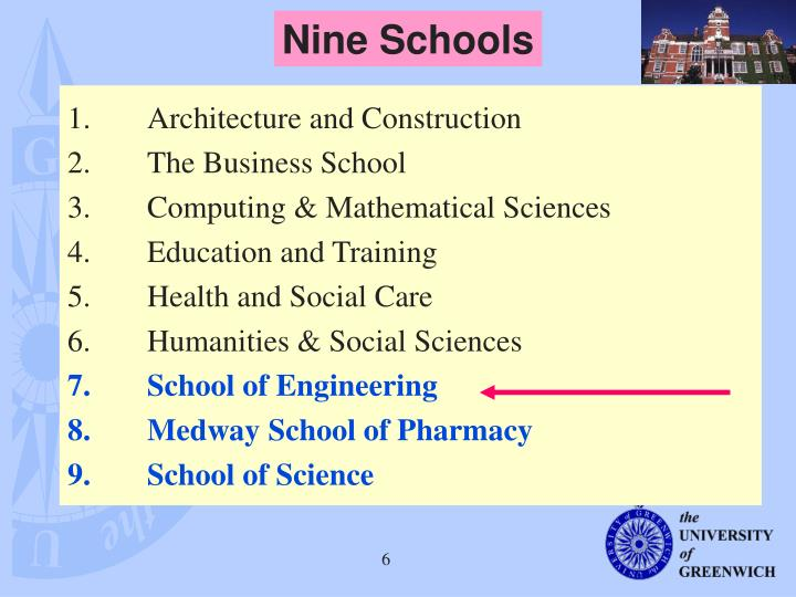 Nine Schools