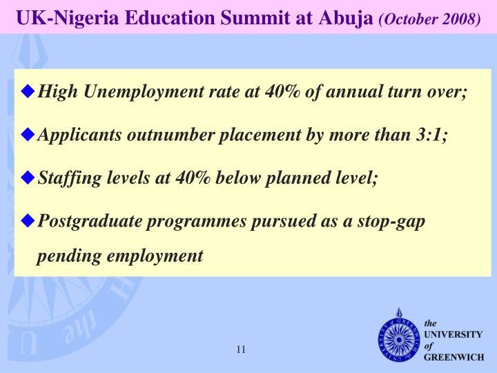 UK-Nigeria Education Summit at