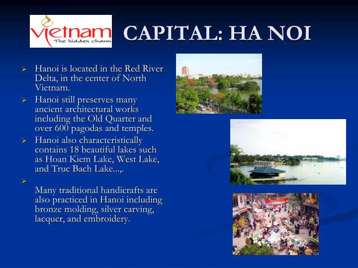 CAPITAL: HA NOI