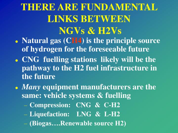 THERE ARE FUNDAMENTAL LINKS BETWEEN