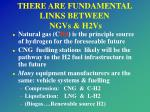 there are fundamental links between ngvs h2vs