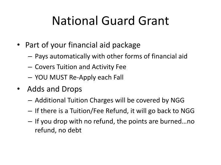 National Guard Grant