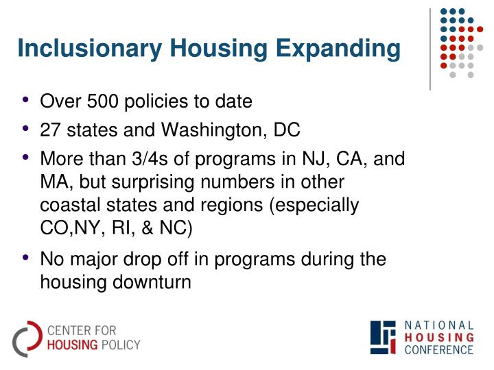 Inclusionary Housing Expanding