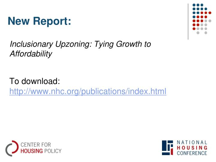 New Report: