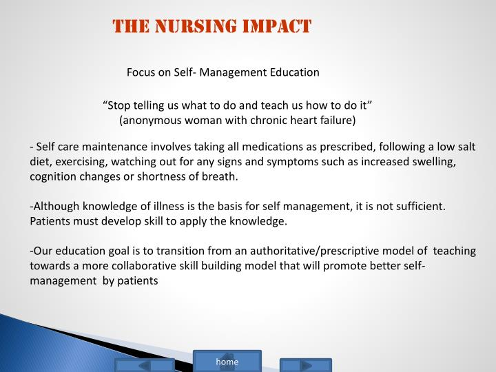 The Nursing Impact
