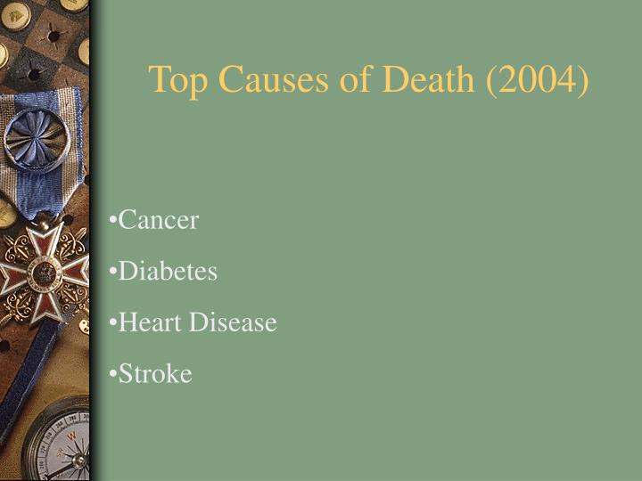 Top Causes of Death (2004)