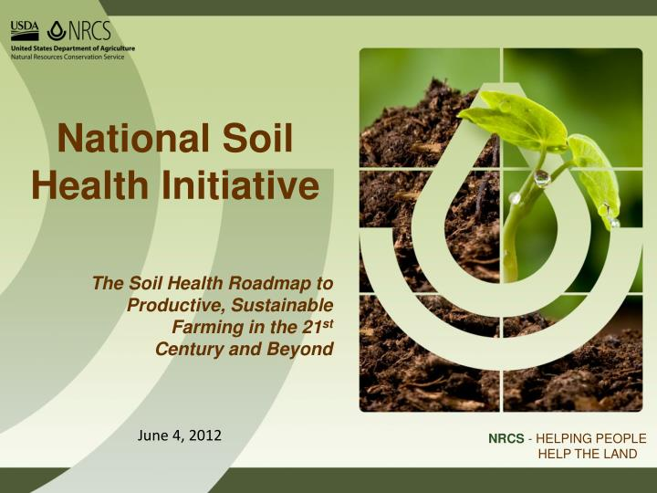 National soil health initiative
