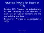appellate tribunal for electricity ate