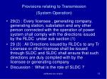 provisions relating to transmission system operation3