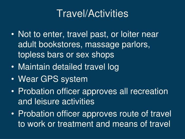 Travel/Activities