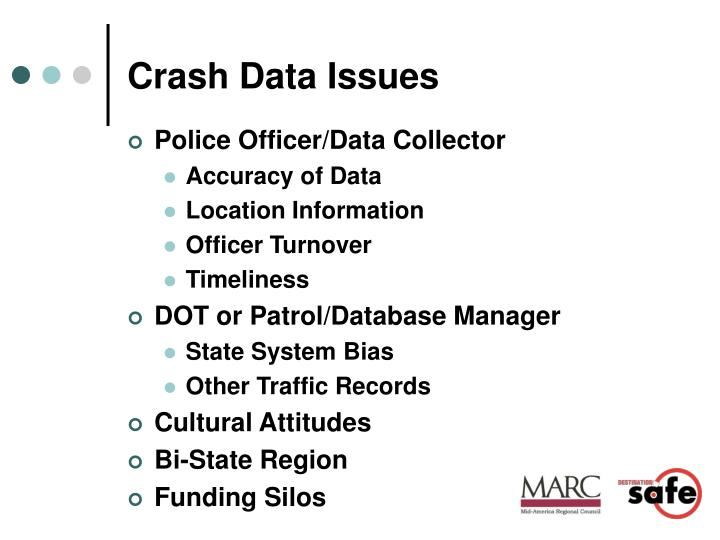 Crash Data Issues