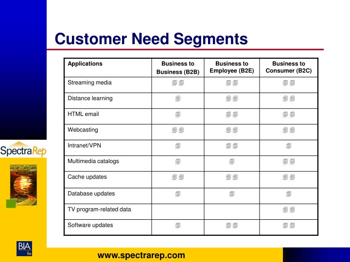 Customer Need Segments