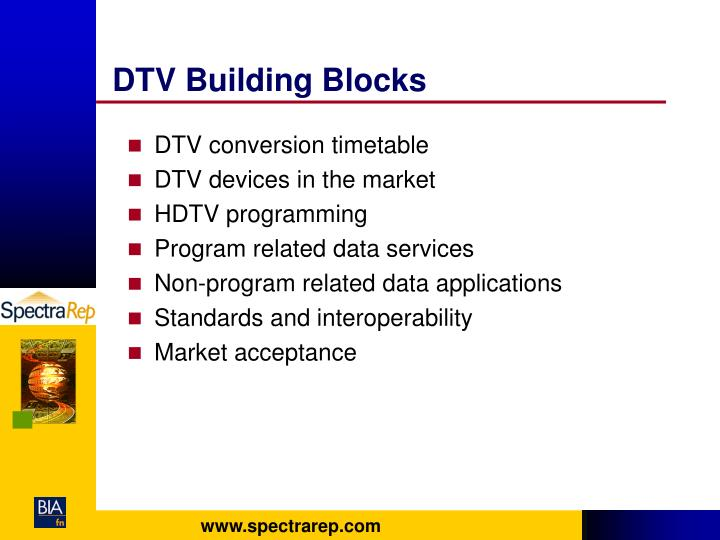 DTV Building Blocks